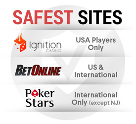 Safest Poker Sites