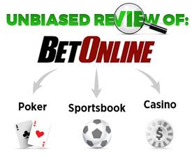 Betonline offers Poker, Sportsbook & Casino games