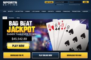 SportsBetting.ag's Poker Home Page